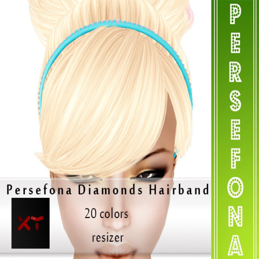 Persefona diamonds hairband