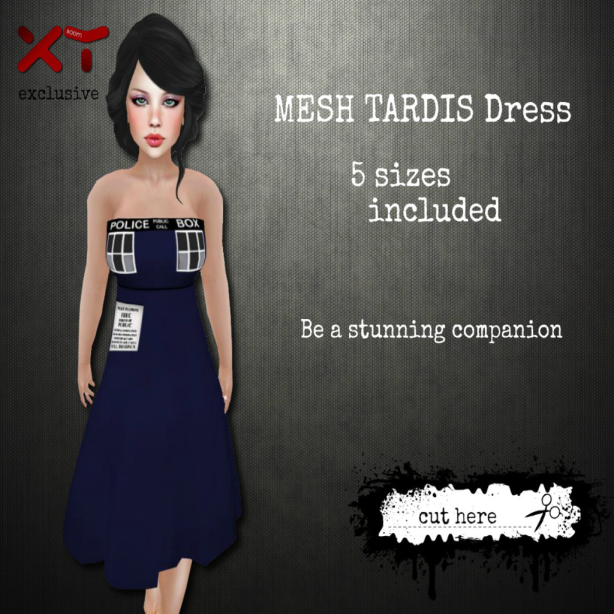 ._cut here_. TARDIS Dress (Ad)